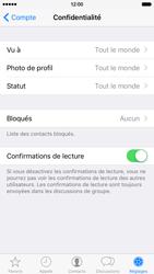 Apple iPhone 6 iOS 9 - WhatsApp - Définir votre photo de profil et votre fond d'écran dans WhatsApp - Étape 9