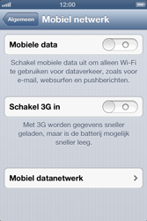 Apple iPhone 4 met iOS 6 - Internet - handmatig instellen - Stap 5