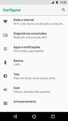 Motorola Moto X4 - Wi-Fi - Como configurar uma rede wi fi - Etapa 4