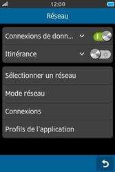 Samsung Wave M - Internet et connexion - Désactiver la connexion Internet - Étape 5