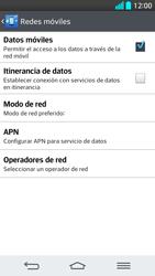 LG G2 - Internet - Configurar Internet - Paso 7