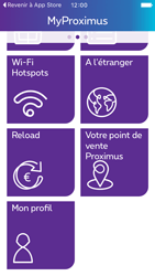 Apple iPhone 5 iOS 9 - Applications - MyProximus - Étape 21
