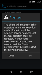 HTC Desire 320 - Network - Usage across the border - Step 7