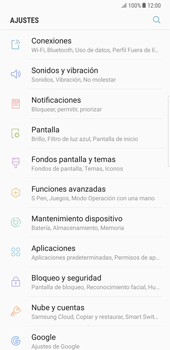 Samsung Galaxy Note 8 - Funciones básicas - Activar o desactivar el modo avión - Paso 4