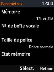 Nokia 3310 - Messagerie vocale - Configuration manuelle - Étape 6