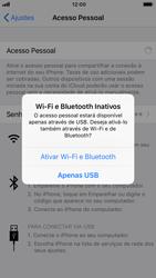Apple iPhone 7 - iOS 12 - Wi-Fi - Como usar seu aparelho como um roteador de rede wi-fi - Etapa 7