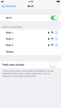 Apple iPhone 6s Plus - iOS 11 - Wi-Fi - Como ligar a uma rede Wi-Fi -  5
