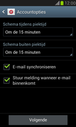 Samsung I8190 Galaxy S III Mini - E-mail - Account instellen (IMAP zonder SMTP-verificatie) - Stap 14