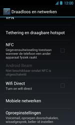 Acer Liquid Glow E330 - Voicemail - Handmatig instellen - Stap 5