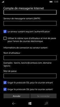 Microsoft Lumia 950 XL - E-mail - Configuration manuelle - Étape 16