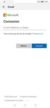 Huawei Mate 20 Pro - E-mail - 032c. Email wizard - Outlook - Étape 5