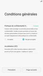 Huawei P8 Lite - Premiers pas - Créer un compte - Étape 6