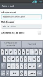 LG Optimus F5 - E-mails - Ajouter ou modifier un compte e-mail - Étape 6