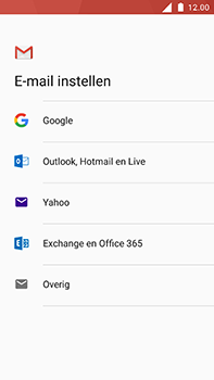 Nokia 6 - E-mail - Account instellen (POP3 zonder SMTP-verificatie) - Stap 7