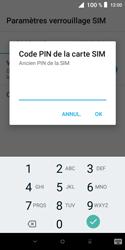 Alcatel 1X - Sécuriser votre mobile - Personnaliser le code PIN de votre carte SIM - Étape 7