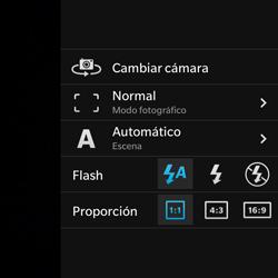 BlackBerry Q5 - Funciones básicas - Uso de la camára - Paso 8