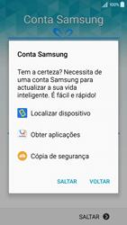 Samsung Galaxy A5 - Primeiros passos - Como ligar o telemóvel pela primeira vez -  14