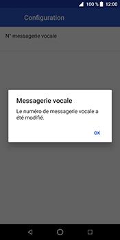 ZTE Blade V9 - Messagerie vocale - Configuration manuelle - Étape 11
