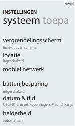 HTC C110e Radar - Buitenland - Bellen, sms en internet - Stap 5