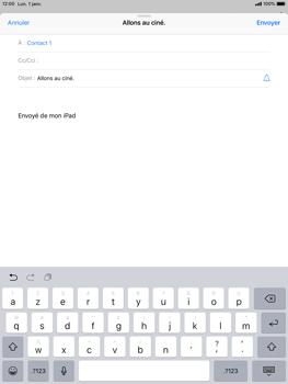 Apple iPad 9.7 (2018) iOS12 - E-mail - envoyer un e-mail - Étape 6