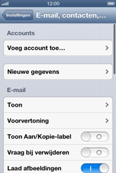 Apple iPhone 4 S - E-mail - Handmatig instellen - Stap 5