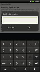 HTC S720e One X - SMS - Configuration manuelle - Étape 6