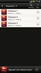 HTC One S - Photos, vidéos, musique - Ecouter de la musique - Étape 7