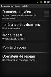 Sony ST21i Xperia Tipo - Internet - Configuration manuelle - Étape 6
