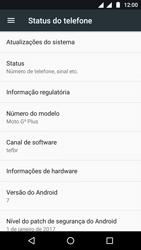 Motorola Moto G5 - Primeiros passos - Como encontrar o número de IMEI do seu aparelho - Etapa 5