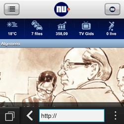 BlackBerry Q10 - Internet - hoe te internetten - Stap 13