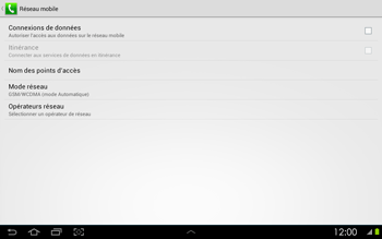 Samsung P5100 Galaxy Tab 2 10-1 - Internet - configuration manuelle - Étape 7