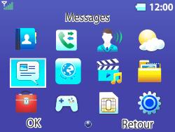 Bouygues Telecom Bc 311 - Contact, Appels, SMS/MMS - Envoyer un SMS - Étape 3