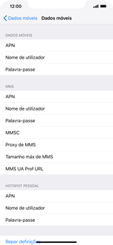 Apple iPhone XR - Internet no telemóvel - Como configurar ligação à internet -  6