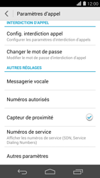 Huawei Ascend P7 - Messagerie vocale - configuration manuelle - Étape 6