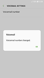 Samsung A320F Galaxy A3 (2017) - Android Oreo - Voicemail - Manual configuration - Step 11