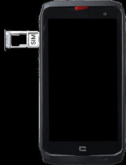Crosscall Action X3 - Premiers pas - Insérer la carte SIM - Étape 4