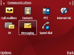 Nokia E63 - Mms - Manual configuration - Step 15