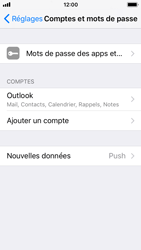Apple iPhone SE - iOS 11 - E-mail - Configuration manuelle (outlook) - Étape 10