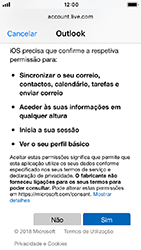 Apple iPhone 5s - iOS 12 - Email - Adicionar conta de email -  8