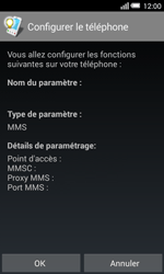 Alcatel Pop S3 (OT-5050X) - MMS - Configuration automatique - Étape 5