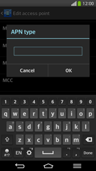 LG G Flex D955 - Mms - Manual configuration - Step 14