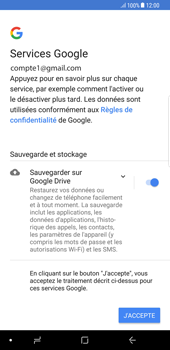 Samsung Galaxy S8 Plus - Android Oreo - E-mail - Configurer l