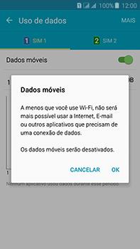 Samsung Galaxy J7 - Rede móvel - Como ativar e desativar uma rede de dados - Etapa 7