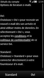 Nokia 700 - E-mail - Configuration manuelle - Étape 11