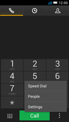 Alcatel OT-6012X Idol Mini - Voicemail - Manual configuration - Step 5