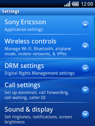 Sony Ericsson Xperia X10 Mini - Internet - Manual configuration - Step 4