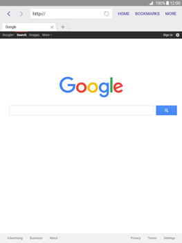 Samsung Galaxy Tab A 9.7 - Internet - Internet browsing - Step 11