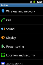 Samsung S7500 Galaxy Ace Plus - Network - Usage across the border - Step 4