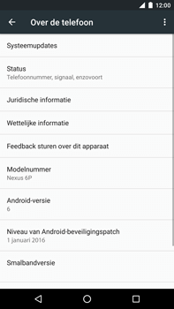 Huawei Google Nexus 6P - Software updaten - Update installeren - Stap 5
