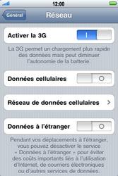 Apple iPhone 3G S - Internet - activer ou désactiver - Étape 5